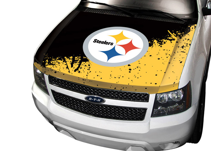 Steelers Car Hood Cover